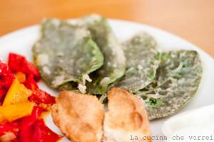 Salvia fritta con peperoni